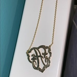 """A"" NECKLACE"